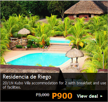 Accommodation Promo at Residencia de Rigeo