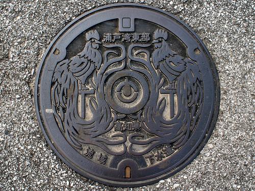 Kochi pref Manhole cover (高知県のマンホール)