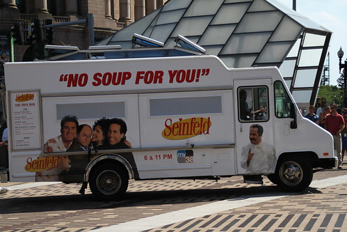 Soup Nazi at Dewey Square
