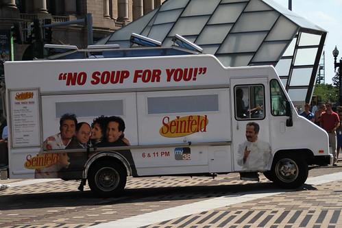 Soup Nazi at Dewey Square