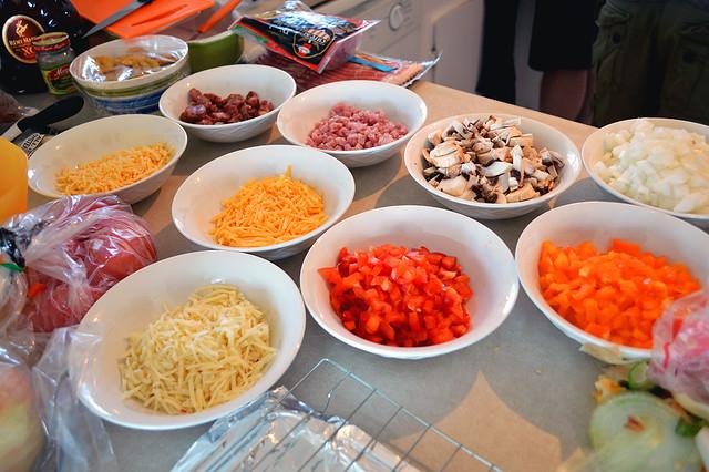 Omelette Fixings