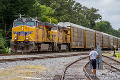 UP 5407 | GE AC45CCTE | NS Memphis Distirct