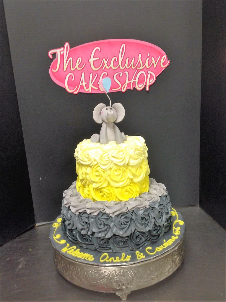 Baby Shower Cakes - Exclusive Cake Shop