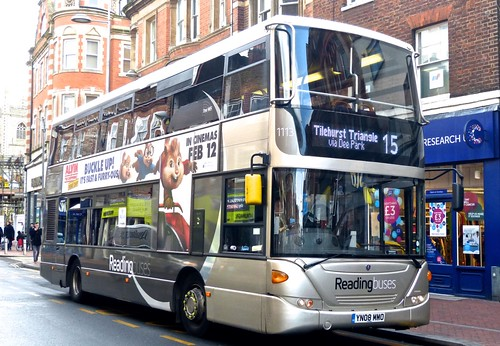 YN08 MMO 'Reading Buses' 1113 Scania CN270UD OmniCity on 'Dennis Basfords' railsroadsrunways.blogspot.co.uk