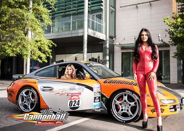 Cannonball Ireland 2016 with 190 Wacky & Supercars