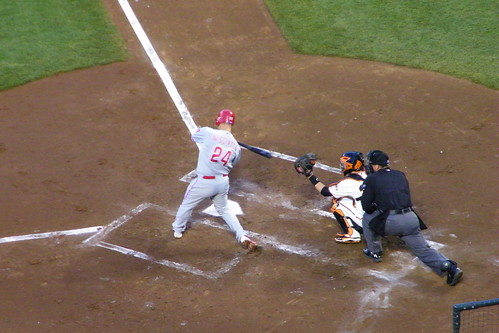 San Francisco Giants 1, Philadelphia Phillies (San Francisco, California - Wednesday April 18, 2012)