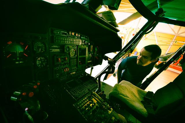 USCGS chopper cockpit