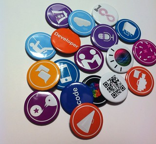 2012 Foursquare Specials button collections