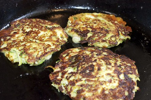 fritters/zucchini