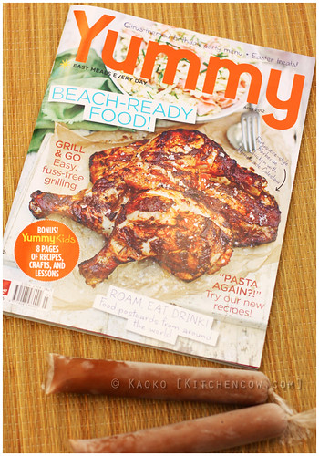 Yummy Magazine April 2012 by kaoko