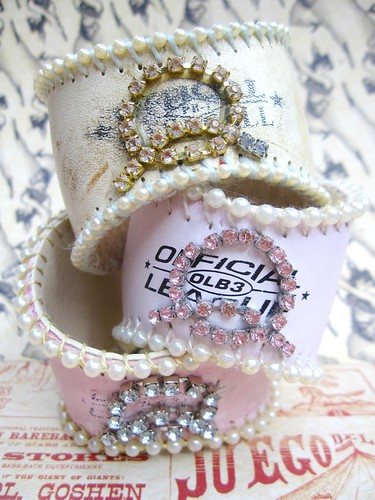 Custom Shabby Baseball Cuffs! 9
