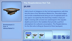 The Resplendence Hot Tub