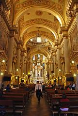 Interior, Catedral León Gto...