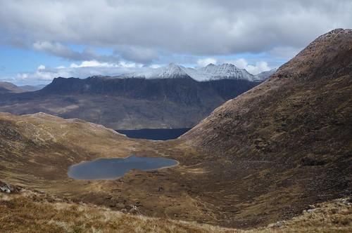 Loch Toll an Lochain & An Teallach