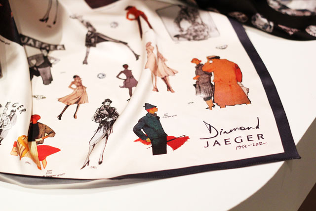 Boutique by Jaeger AW12 silk scarf
