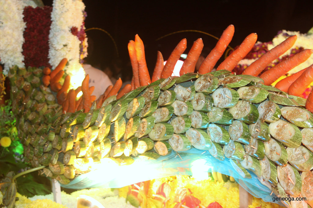 Vegetables deco chariot
