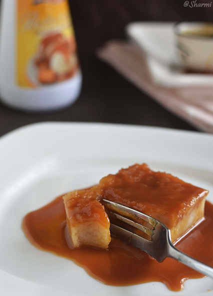 bread caramel pudding