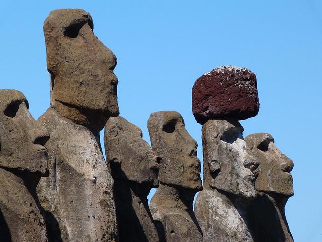 Moáis de Isla de Pascua
