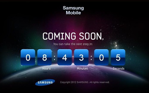 Samsung Mobile Countdown