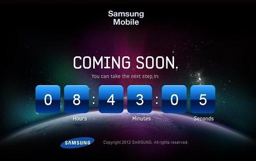 Samsung Mobile Countdown