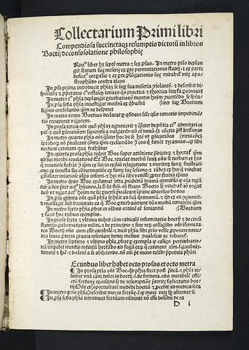 Variant reading in Boethius: De consolatione philosophiae