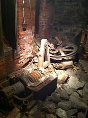 Leftover elevator machinery