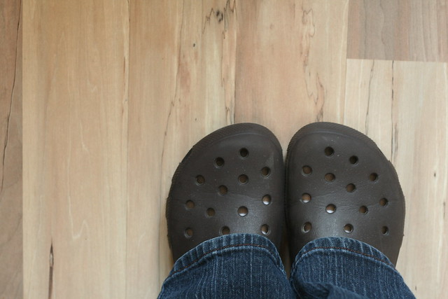 I Wear Crocs OR 262/365