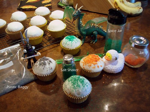 Let's make some dragon cupcakes!