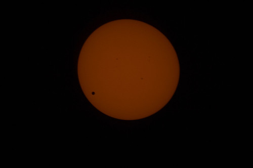 Venus Transit From ISS