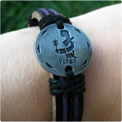 Virgo Bracelet Detail