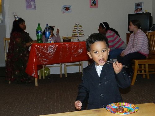 Godson's 2nd birthday party