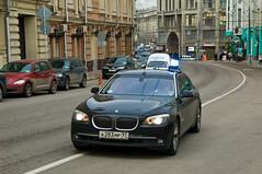 BMW Serie 7 police