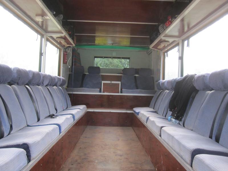 Empty Overland Truck Africa