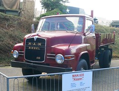 MAN 635 Kipper 1963 red vl
