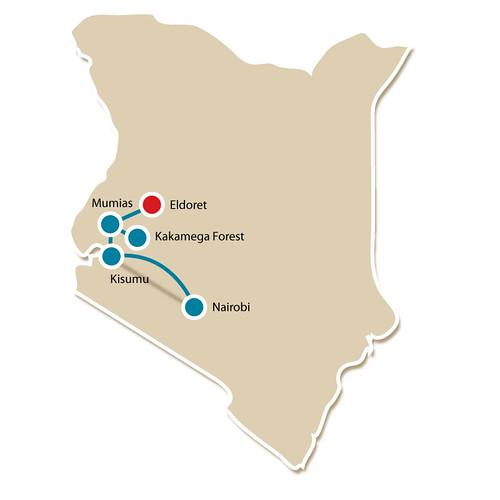 Mumias to Eldoret