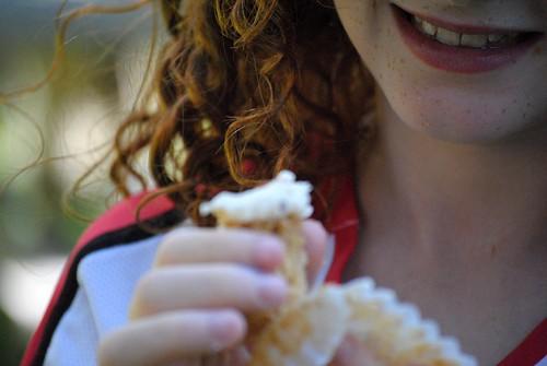 cupcake smile