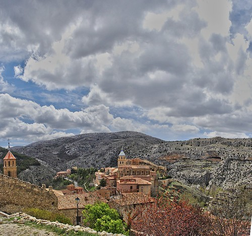 Albarracín. A vista de pájaro. bird's eye view