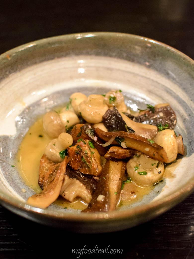 Mr Hive Kitchen & Bar - Sauteed wild mushrooms $7