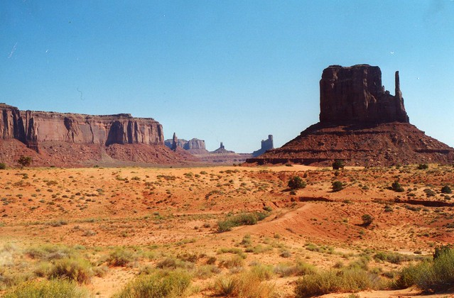 Monument Valley, Arizona USA by CC user tango- on Flickr