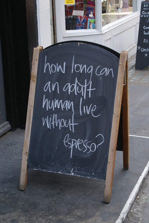 Espresso philosophy, London, UK 02848