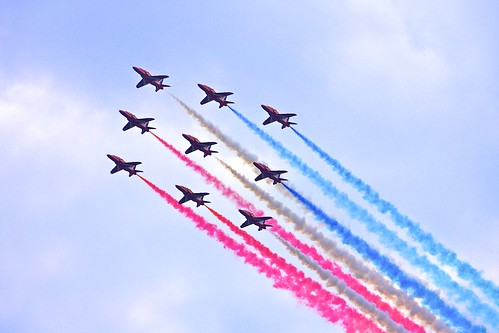 Red Arrows, Diamond Jubilee by bill.s.preston