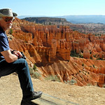 Hunting the hoodoo, Bryce canyon, Utah.
