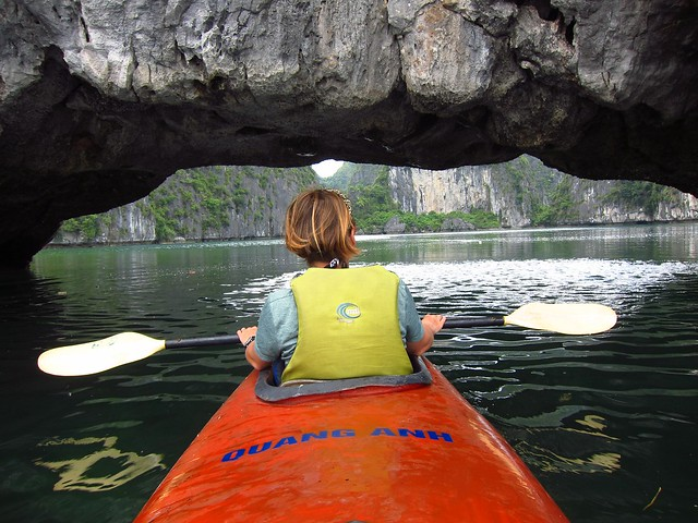 Kayaking into a Tidal Lagoon