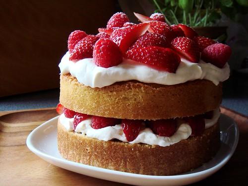 Strawberry Raspberry Shortcake