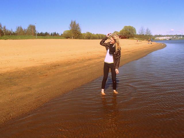 katson autioita hiekkarantaa