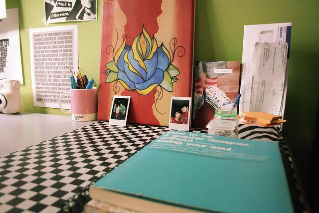 desk painting
