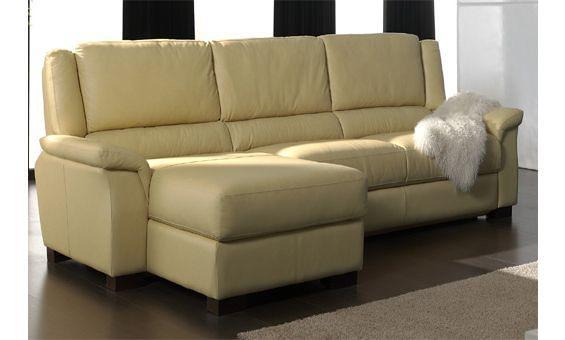 Sofas granfort sof s tapizados en piel flor natural sofa for Sofas de piel con chaise longue