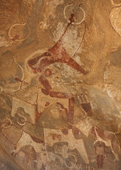 Laas Geel Rock Art Caves, Paintings Depicting Cows Somaliland