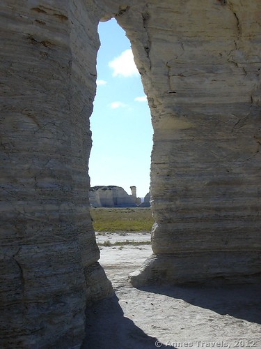 The Keyhole, Monument Rocks National Natural Landmark, Kansas