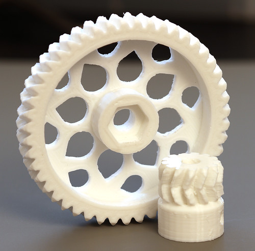 Herringbone Gears for RepRapPro Huxley